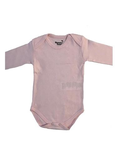 Mummy's Baby Mummy's Baby Uzun Kollu  Body Pembe Pembe